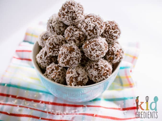 Cacao and Coconut Bliss Balls