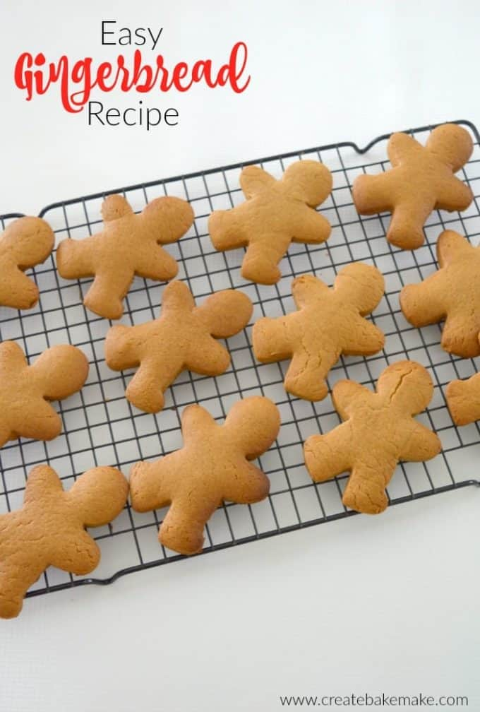 Easy Gingerbread Recipe Create Bake Make