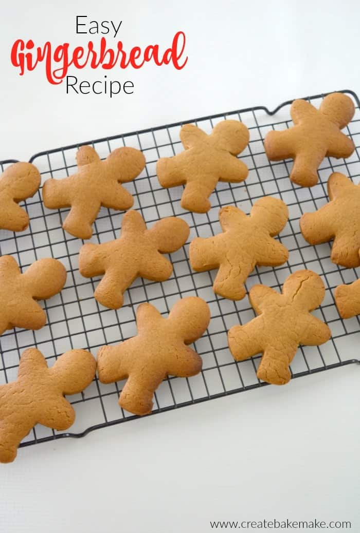 Easy Gingerbread Recipe