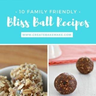 10 Family Friendly Bliss Ball Recipes