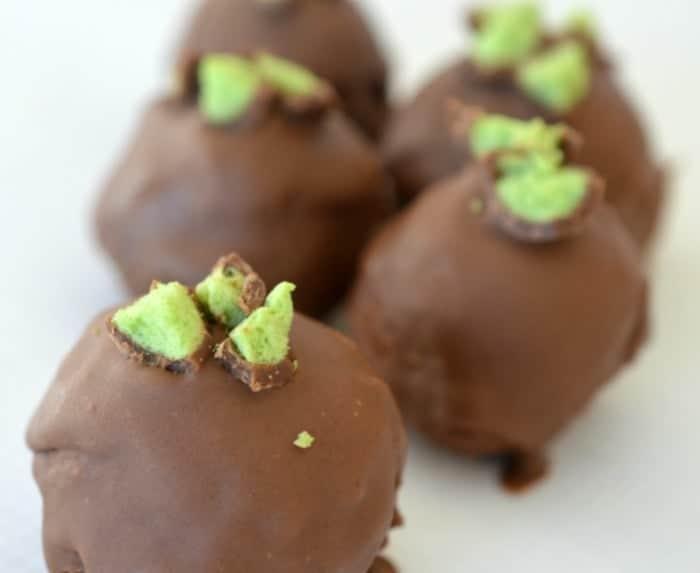 Mint Maltesers Cheesecake Balls Recipe