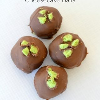 Mint Maltesers Cheesecake Balls