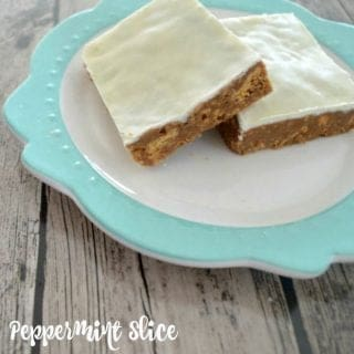 Thermomix Peppermint Slice Recipe