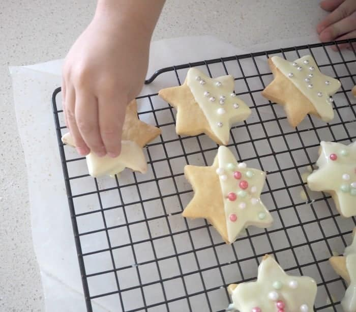 White Chocolate Shortbread Recipe