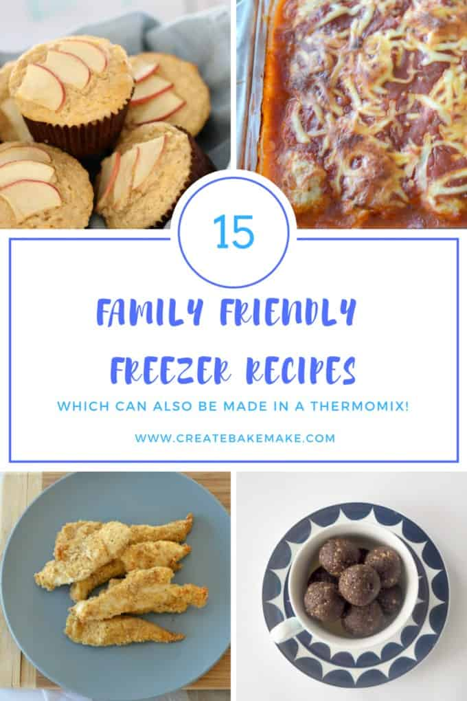 My favourite 15 family friendly freezer recipes