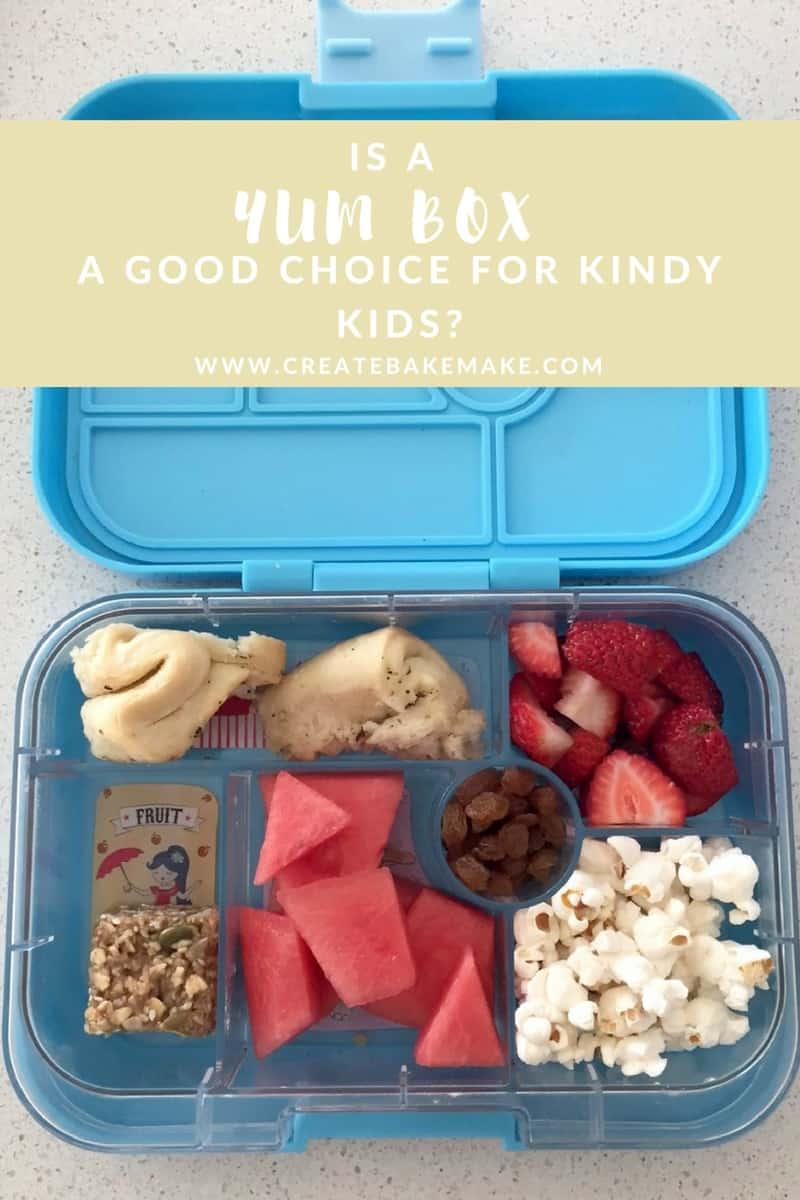 Is a Yum Box a good choice for Kindy Kids