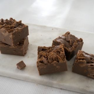 Three Ingredient Tim Tam Fudge