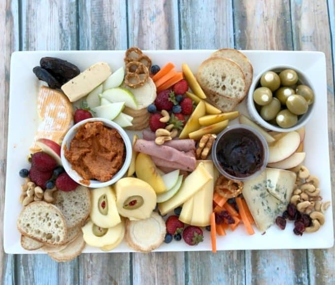 Easy Cheese Platter