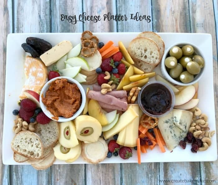 Easy Cheese Platter Ideas
