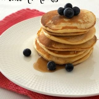 Fluffy American Pancakes Recipe