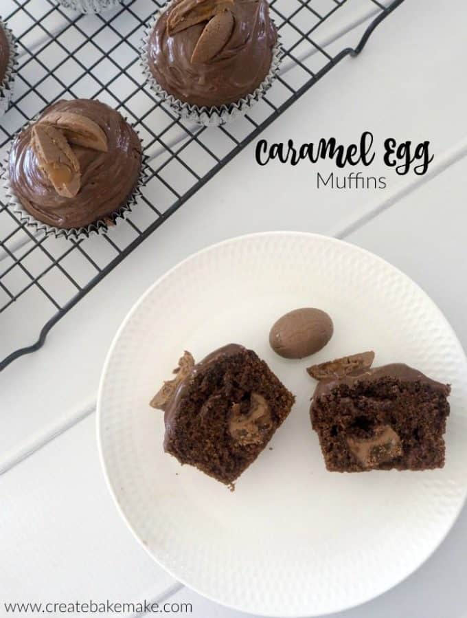 Caramel Egg Muffins Recipe
