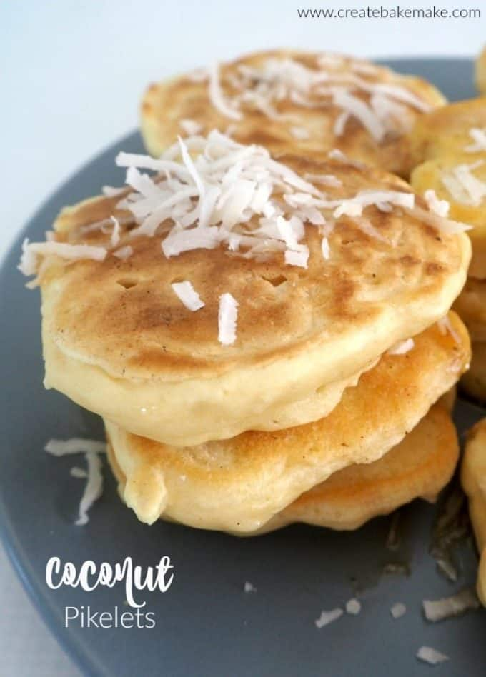 Coconut Pikelets