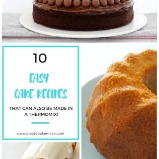 Easy Cake Recipes to make