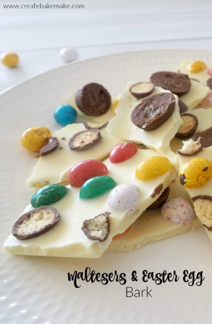 Maltesers and Easter Egg Bark Recipe