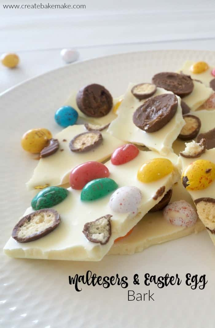 Maltesers and Easter Egg Bark Recipe