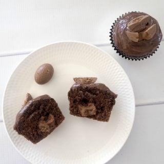 Caramel Egg Muffins