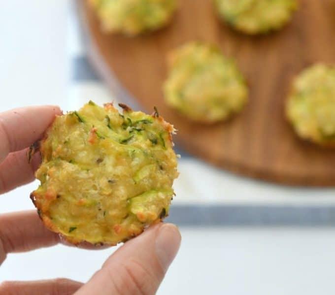 Zucchini and Cheese Mini Muffins Recipe
