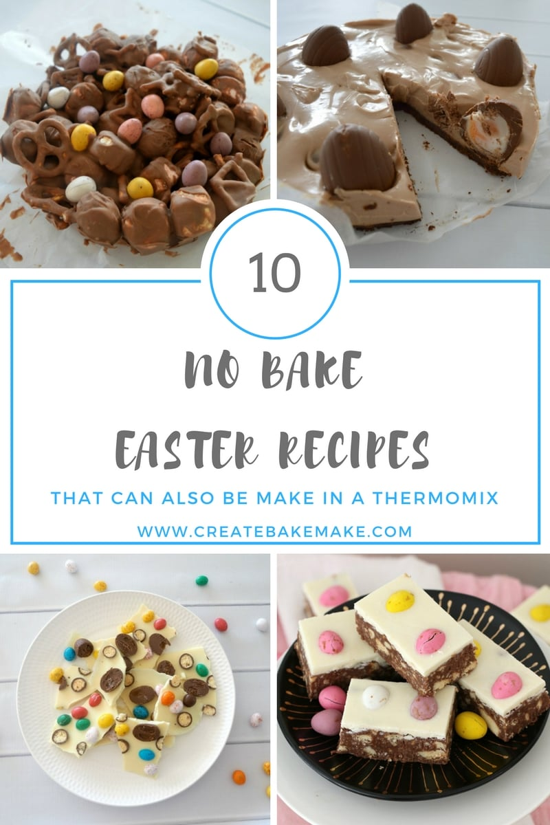 10 No Bake Easter Recipes