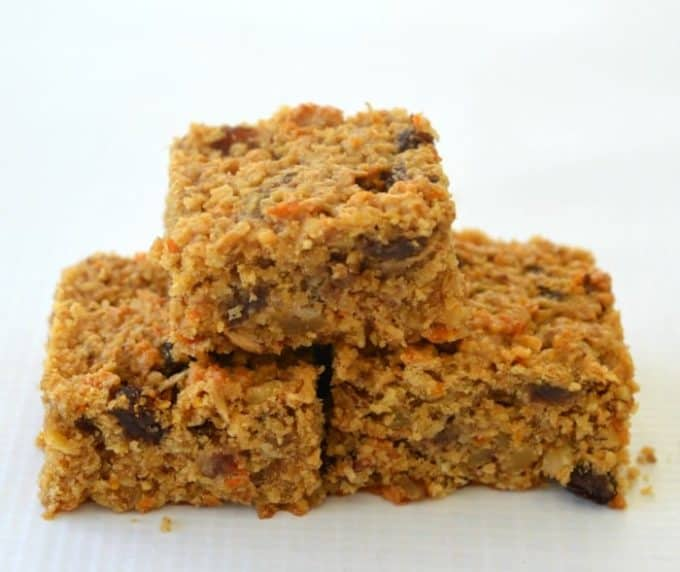 Carrot Cake Muesli Slice Recipe