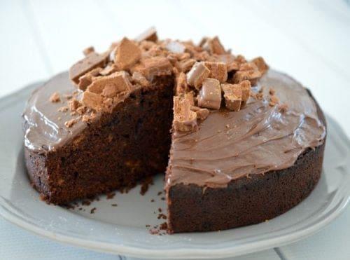 Simple Tim Tam Cake