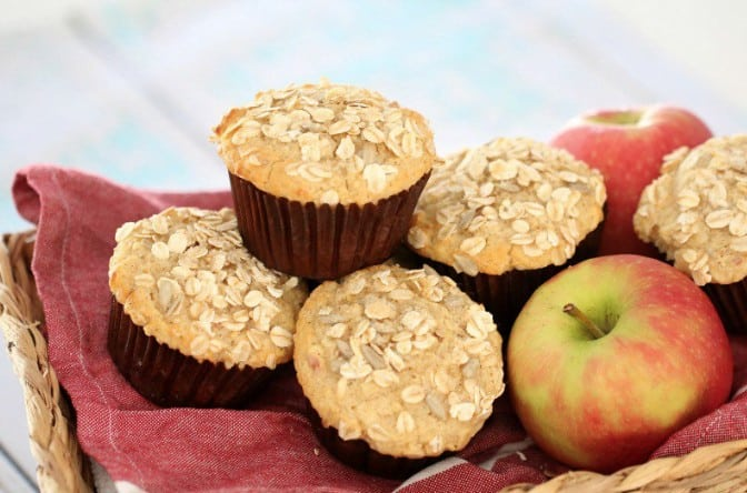 Thermomix Oat and Apple Muffins