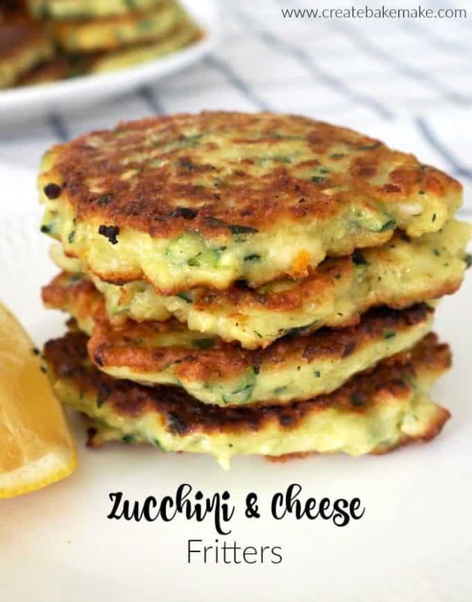 Zucchini and Cheese Fritters Recipe
