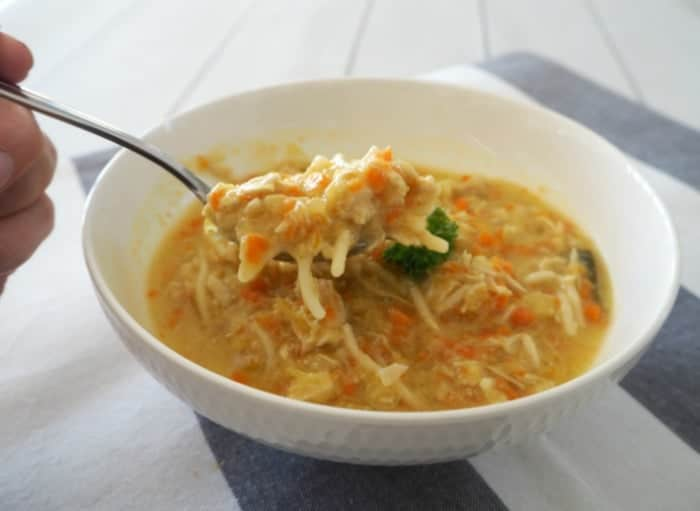 Easy chicken noodle soup in your Thermomix
