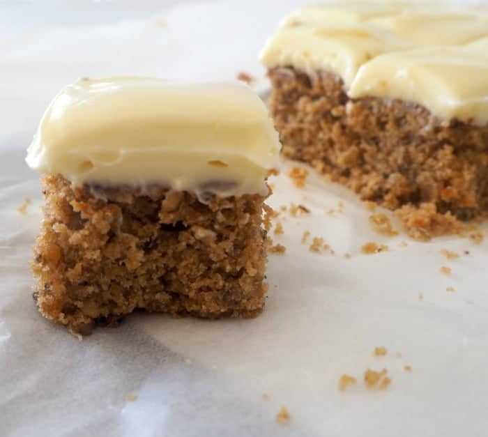 Carrot Cake Slice Recipe