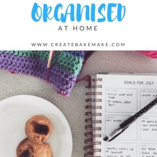 getting organised at home