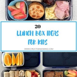 Lunch Box Ideas for Kids which are also good for them