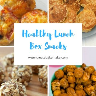 Healthy Lunch Box Snacks