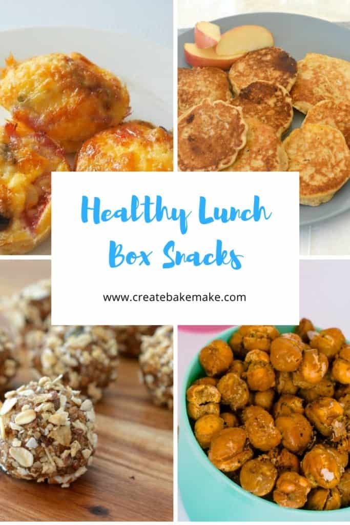 Back to school healthy lunch box guide. try your hand at baking healthy treats such as these 6 which have NO sugar at all but taste like a candy factory. Healthy ratio. Nutrition Australia says a lunch box has 4 components, a main item, a fruit or vegetable snack, a second snack, and a drink.