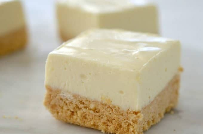 Thermomix Lemon Cheesecake Slice