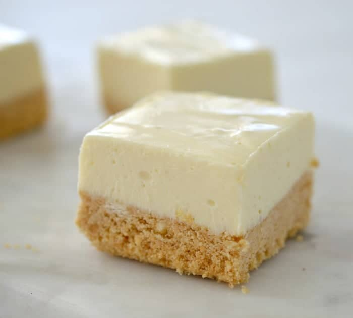 Thermomix Lemon Cheesecake Slice