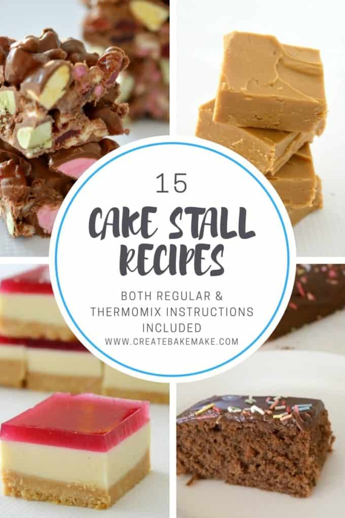 Recipes to make for a cake stall or bake sale