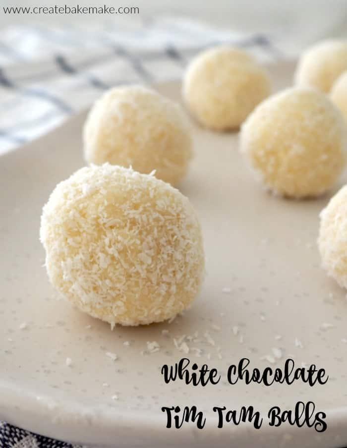 3 Ingredient White Chocolate Tim Tam Balls-2