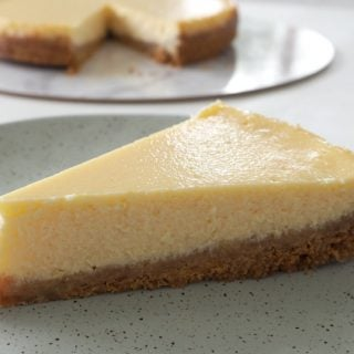 Thermomix Baked Lemon Cheesecake Recipe