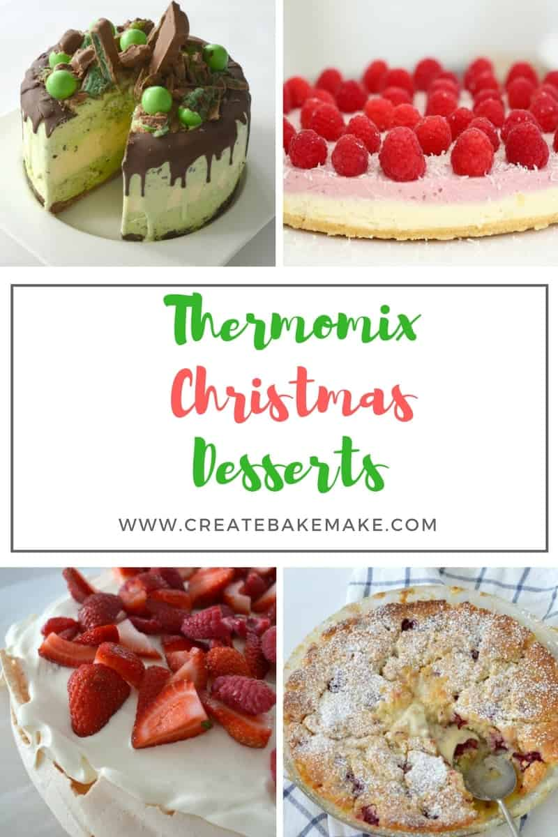 Thermomix Christmas Desserts