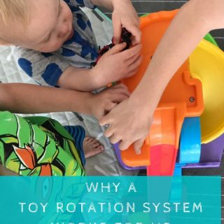 How Toy Rotation Works in Our House