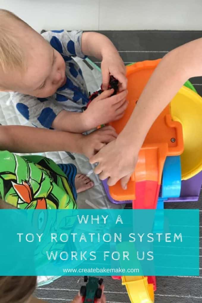 How a Toy Rotation System works