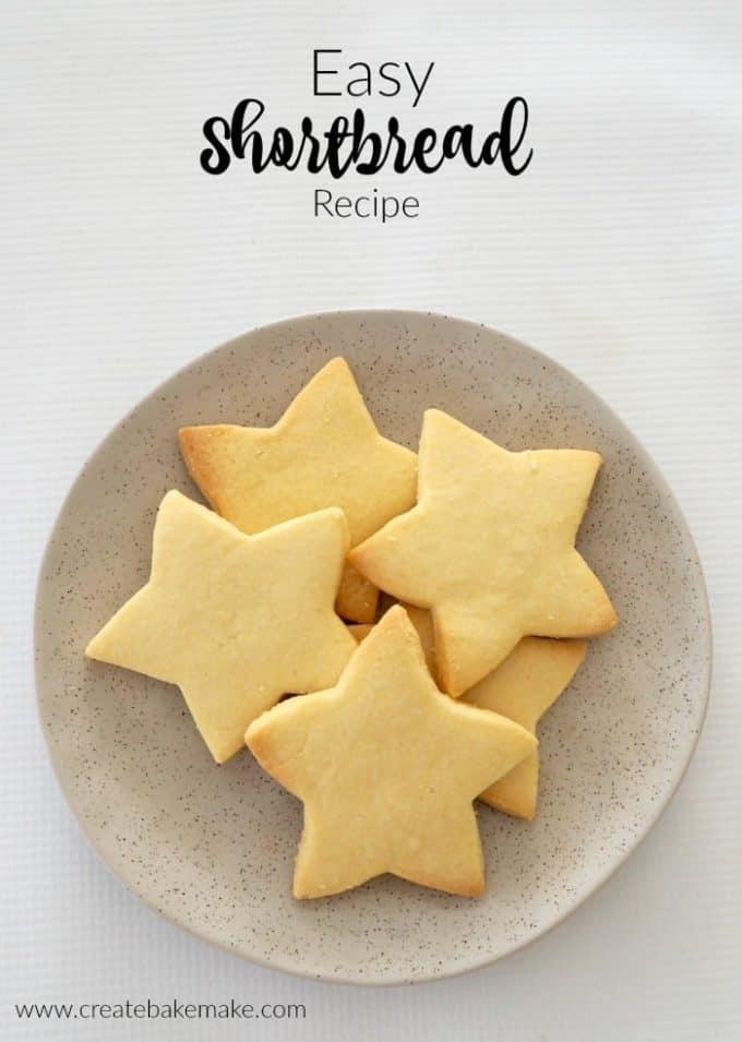 Easy Thermomix Shortbread Recipe Create Bake Make