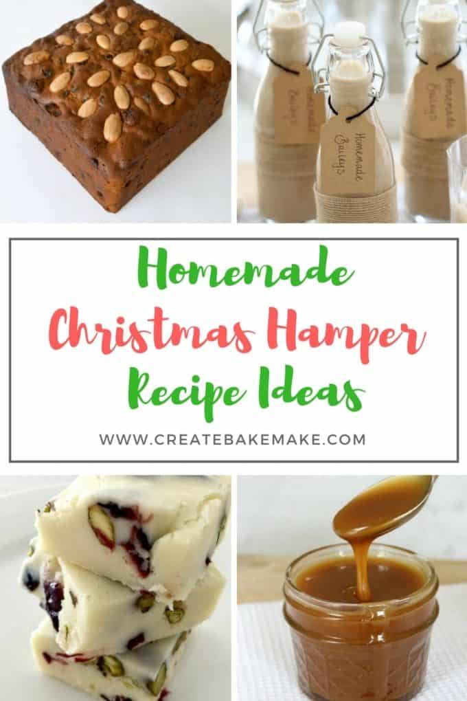 Christmas Hamper Ideas.Homemade Christmas Hamper Recipe Ideas Create Bake Make