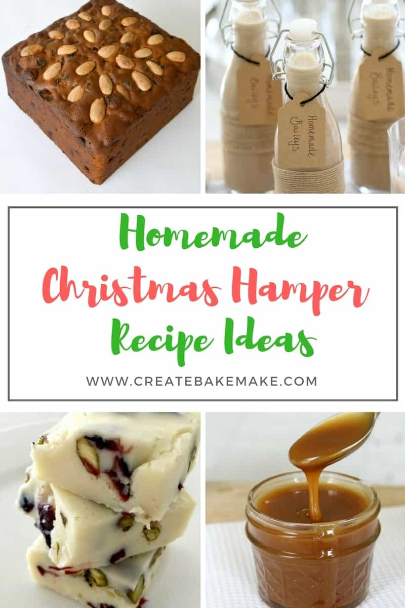 Homemade Christmas Hamper Recipe Ideas