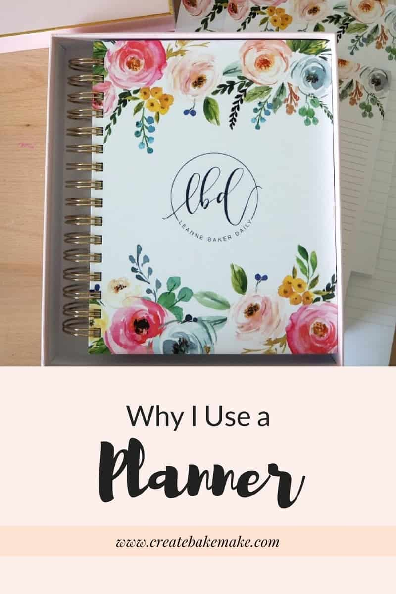 Why I Use a Planner