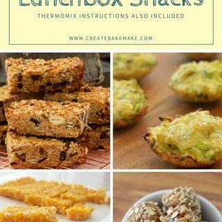 Thermomix Freezer Friendly Lunchbox Snacks