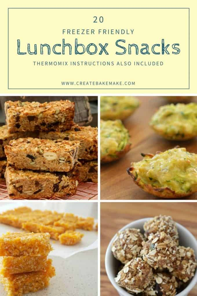 Thermomix Freezer Friendly Lunchbox Snacks