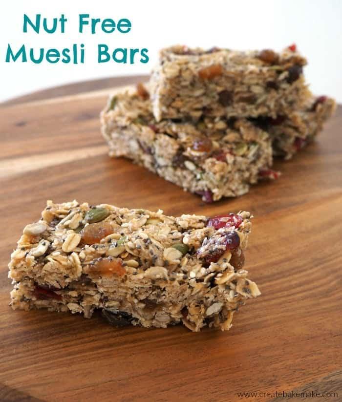 Nut Free Muesli Bars