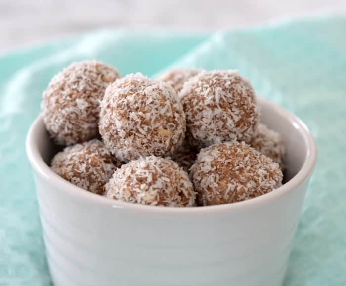 No Bake 4 Ingredient Milo Balls