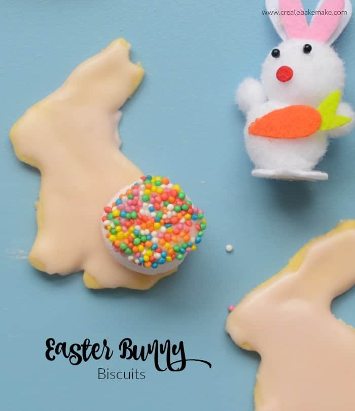 Easy Easter Bunny Biscuits Recipe
