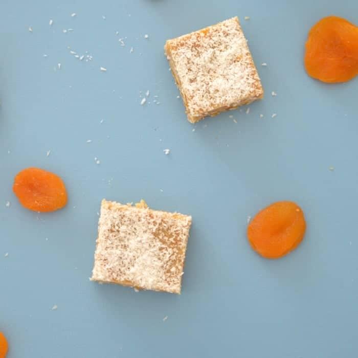 No Bake Apricot and Coconut Slice Recipe